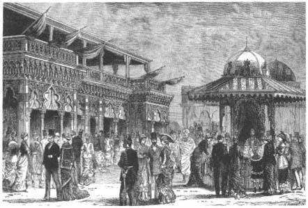 1900 Antique Print Agreeable To Taste france Paris Exhibition Grands Hotels Du Trocadero 231