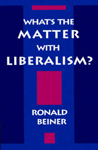 What's the Matter with Liberalism?