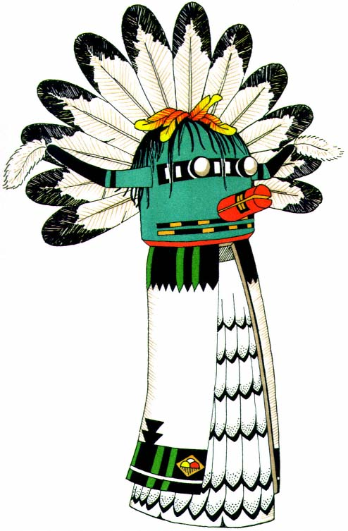 kachina coloring pages to print - photo#31