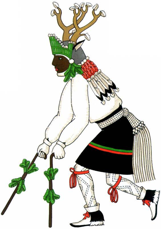 Ceremonial Costumes Of The Pueblo Indians