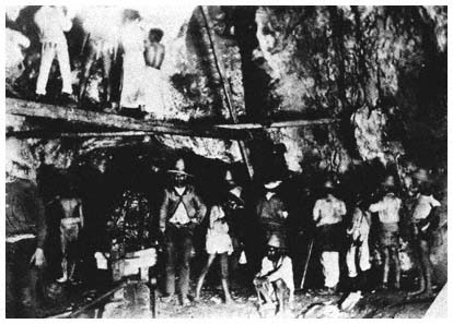 Image result for miners in american mines in mexico