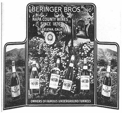 Merchandise & Memorabilia Original 1942 Print Ad Cresta Blanca Wines Chablis Ca Wines 2 Page Profit Small Collectibles