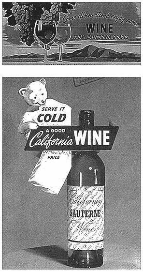 Original 1942 Print Ad Cresta Blanca Wines Chablis Ca Wines 2 Page Profit Small 1940-49