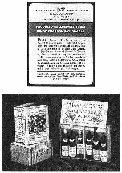 Original 1942 Print Ad Cresta Blanca Wines Chablis Ca Wines 2 Page Profit Small Advertising-print