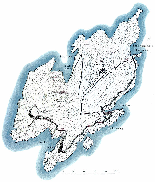 Skellig Michael Map