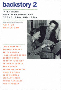 """Backstory 2: interviews with screenwriters of the 1940s and 1950s"" icon"
