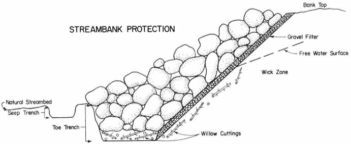 Bank Protection Drawing : California riparian systems quot d e